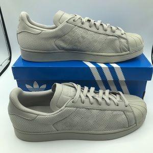 Adidas Superstar Triple Clear Granite Sneakers